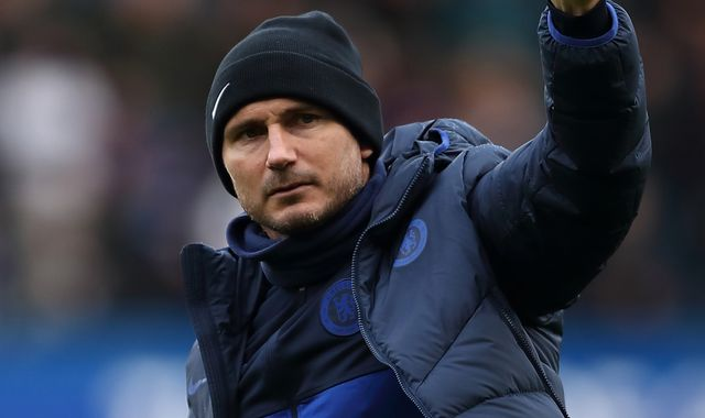 Frank Lampard: Hard for Chelsea plays to stay focused amid coronavirus crisis
