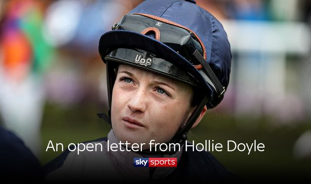 Hollie Doyle: Racing champion's open letter to NHS workers and the UK during lockdown