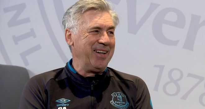 Soccer AM's Tubes went to speak to Everton manager Carlo Ancelotti about his footballing firsts.