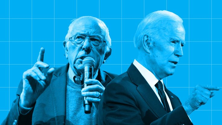 Joe Biden and Bernie Sanders are the likely pair who will fight out the Democratic nomination