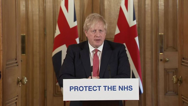Coronavirus: Prime Minister Boris Johnson to address the nation at 8:30pm