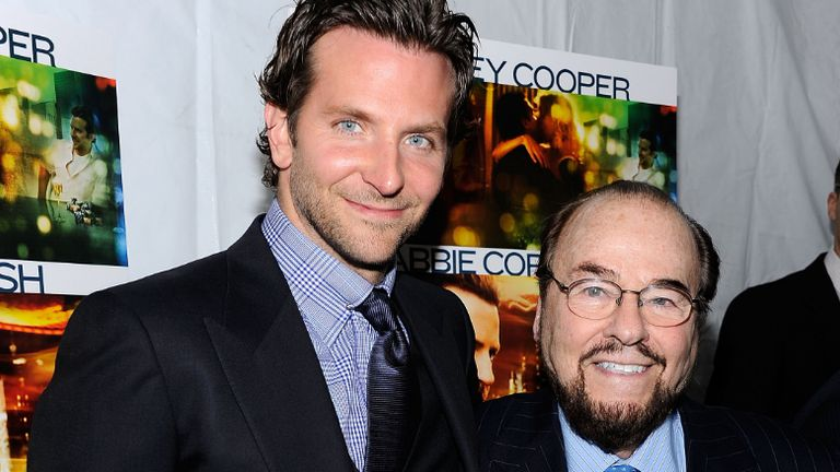 "Actor Bradley Cooper and James Lipton attend the premiere of ""Limitless"" at the Regal Union Square on March 8, 2011 in New York City."