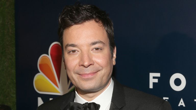 BEVERLY HILLS, CA - JANUARY 08: Telecast host Jimmy Fallon attends the Universal, NBC, Focus Features, E! Entertainment Golden Globes after party sponsored by Chrysler on January 8, 2017 in Beverly Hills, California. (Photo by Jesse Grant/Getty Images for NBCUniversal)