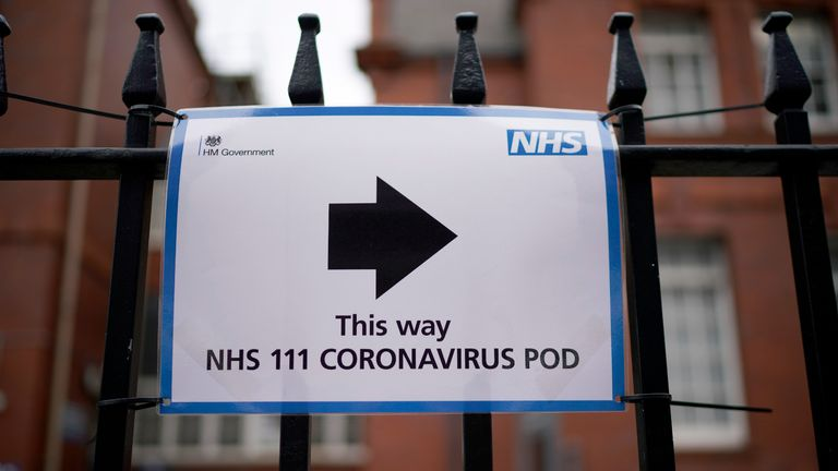 "MANCHESTER, UNITED KINGDOM - MARCH 04: Signs at Manchester Royal Infirmary direct people to the COVID-19 coronavirus isolation pods on March 04, 2020 in Manchester, United Kingdom. During a London press conference yesterday, Prime Minister Boris Johnson said ""it is highly likely we will see a growing number of U.K. cases"". Today the number of coronavirus cases in the UK has risen to 32 since this morning, to a total of 85. (Photo by Christopher Furlong/Getty Images)"