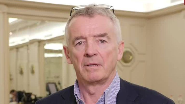 Michael O'Leary Chief Executive Officer of Ryanair