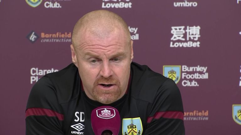 0:25 Burnley boss Sean Dyche is able to see the bigger