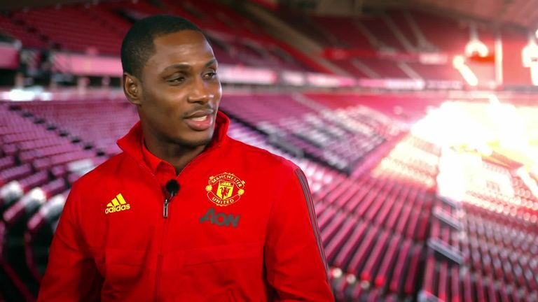 In an exclusive interview with Sky Sports ahead of the Manchester derby, Ighalo revealed how he spent his lunch money on watching United as a child