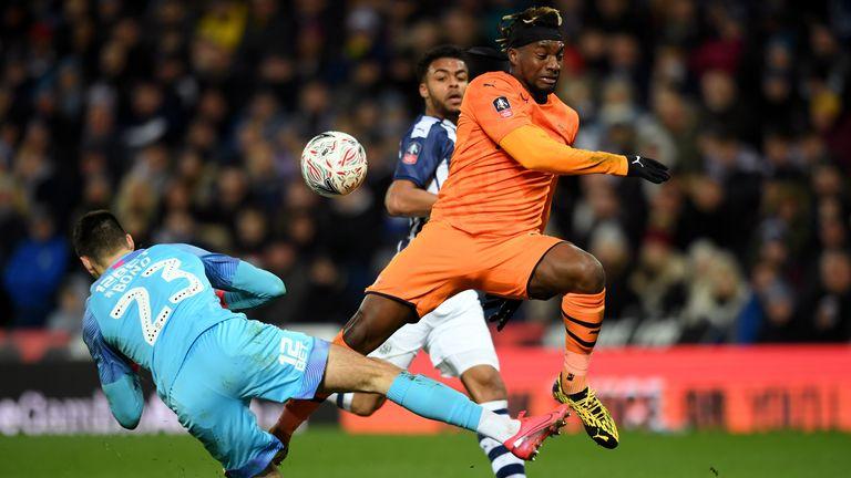 Saint-Maximin was again Newcastle's star against West Brom