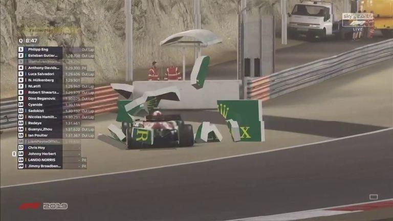 GP de Bahréin Virtual de la F1: Renault gana en medio del entretenimiento y el caos 6