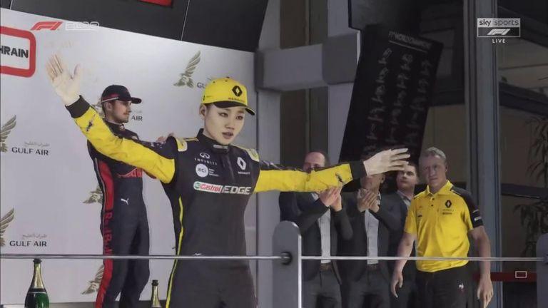 GP de Bahréin Virtual de la F1: Renault gana en medio del entretenimiento y el caos 4