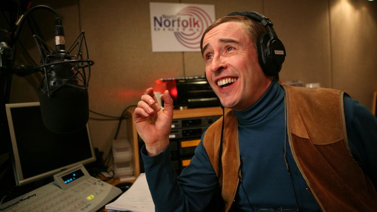 Alan Partridge's Mid Morning Matters. Pic: 
