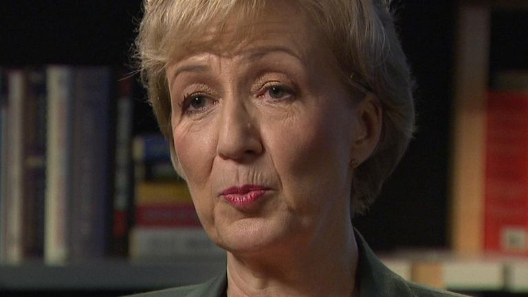 Andrea Leadsom says Brexit measures will help business through coronavirus
