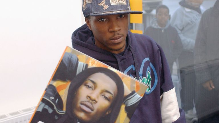 "So Solid Crew member Asher D (Ashley Walters) attends a signing to promote his autobiography ""So Solid"", published yesterday, at Newham Bookshop on April 6, 2004 in London"