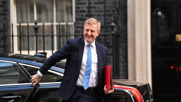 Culture secretary Oliver Dowden was highly critical of the BBC