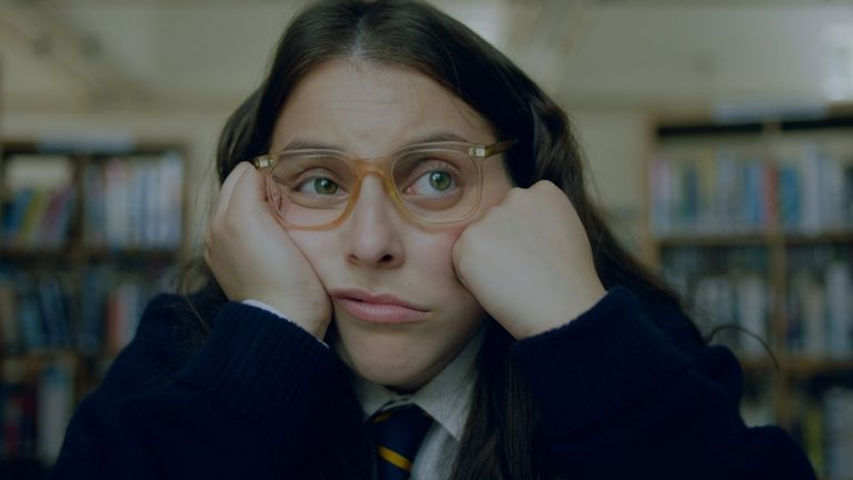 Beanie Feldstein stars in How To Build A Girl. Pic: Lionsgate
