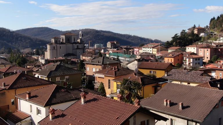 Bergamo has reportedly seen 1,245 cases of COVID-19