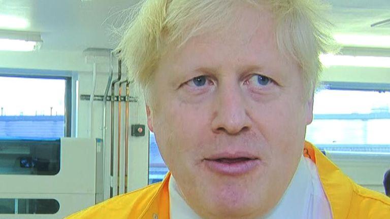 Boris Johnson has spoken about the UK's plans to contain the spread of coronavirus.