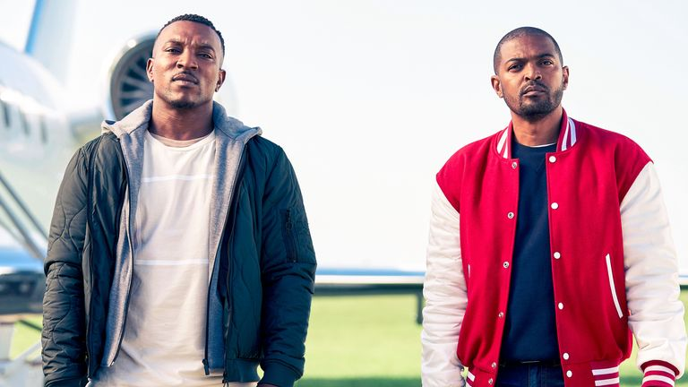 Bulletproof Series 2 with Ashley Walters (left) and Noel Clarke. Pic: ©Sky UK Ltd
