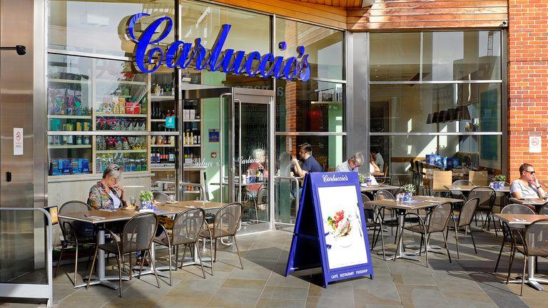 Carluccio's restaurant, Norwich