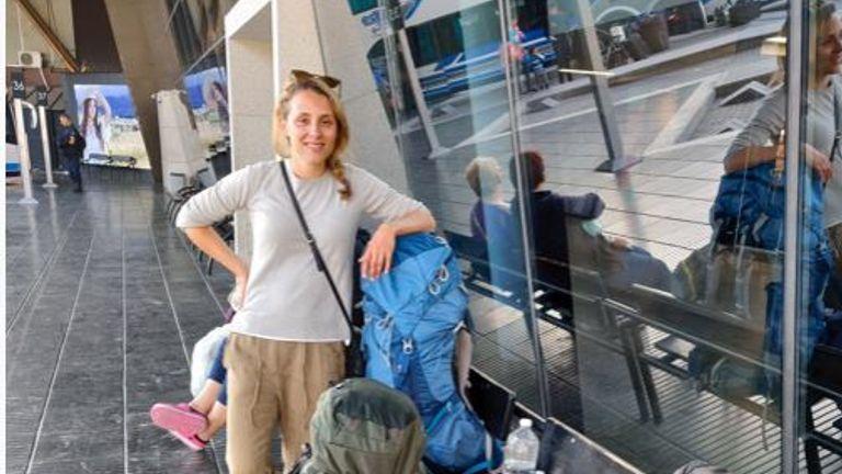 Helen-ann spent her honeymoon in Argentina