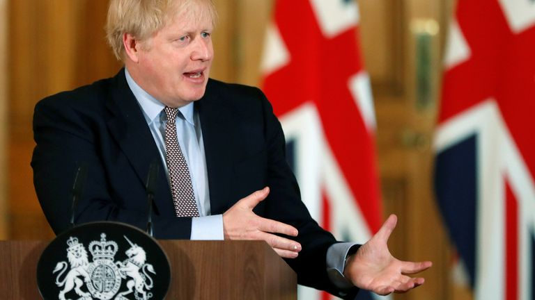 'I was at a hospital where there were a few #coronavirus patients and I shook hands with everybody' says Boris Johnson.