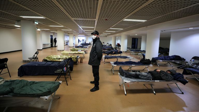 The venue for the Cannes Film Festival is being offered to the homeless
