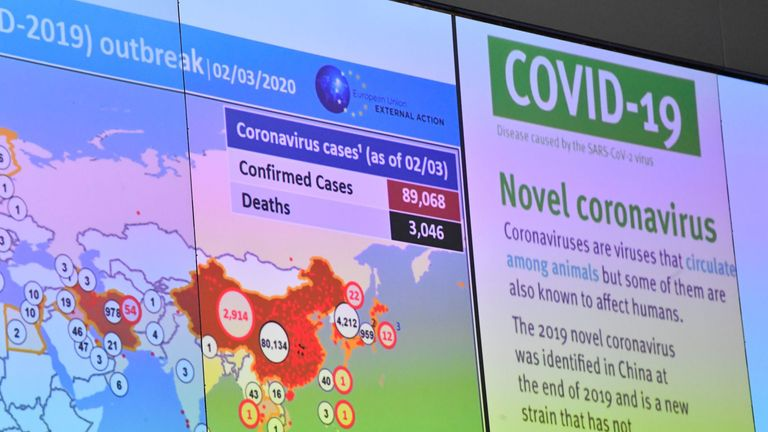 Officials have been keeping a close eye on the spread of the coronavirus