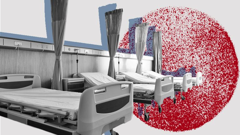 Coronavirus hospital beds