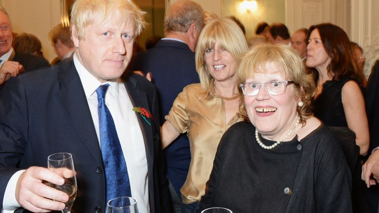 It is understood Boris Johnson will speak to his mum Charlotte via Skype on Mother's Day
