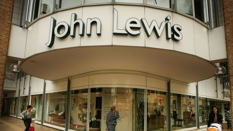 John Lewis is to close all its 50 stores due to the coronavirus