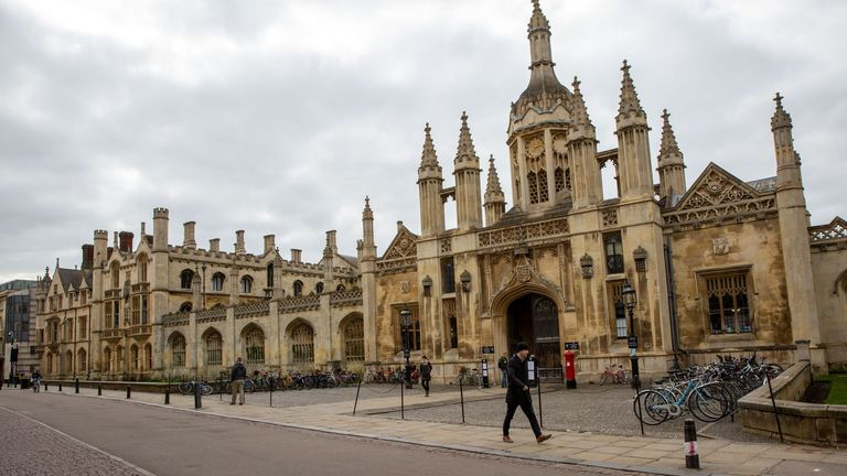 Pic: Geoff Robinson/Shutterstock  Coronavirus outbreak, UK - 16 Mar 2020 The quiet streets of Cambridge on Monday afternoon as visitors stay away due to the coronavirus outbreak.the spread of the disease and to ensure the health of our students, Fellows and staff.