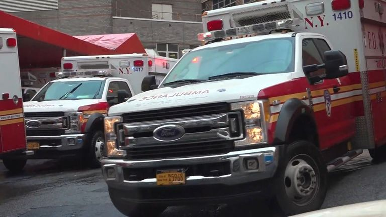 One doctor in New York described conditions in his hospital as 'apocalyptic'
