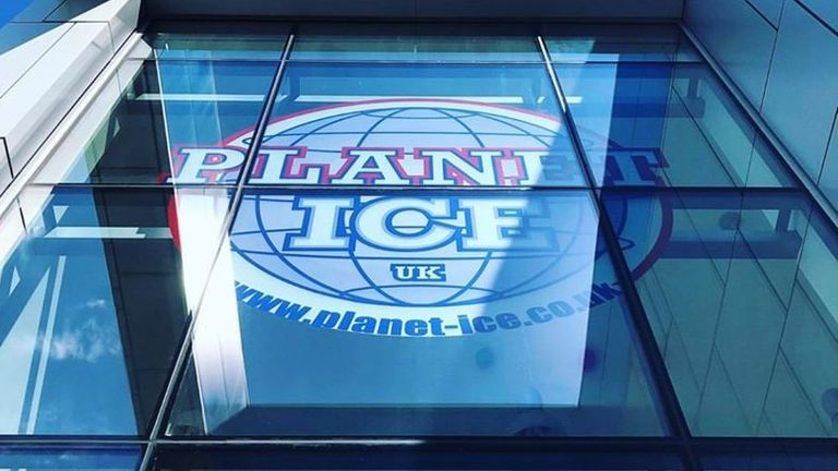 A Planet Ice rink in Milton Keynes could be used as a mortuary. Pic: @planeticevenues