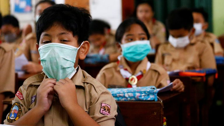 Coronavirus leaves 290 million children out of school, UNESCO says ...