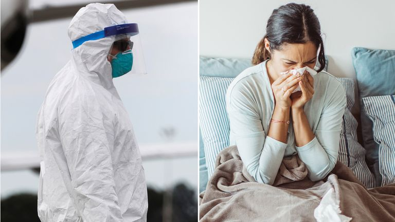 Both COVID-19 and the flu are respiratory illnesses