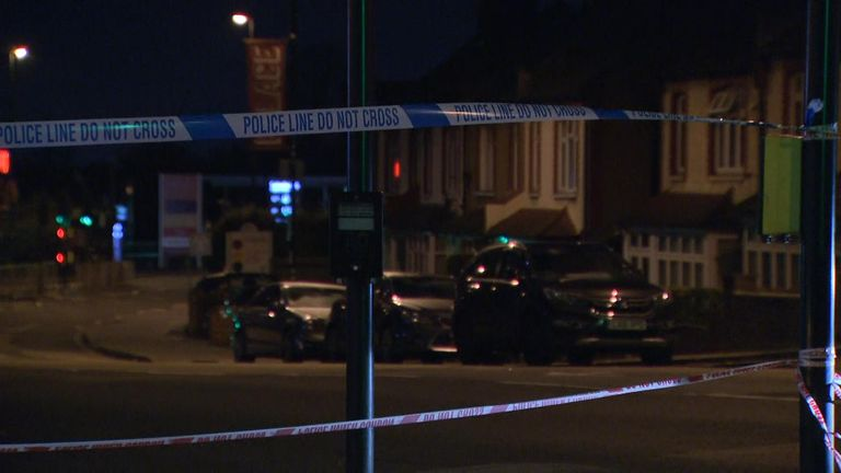 A boy, believed to be 17, has been stabbed to death on a bus in Croydon.