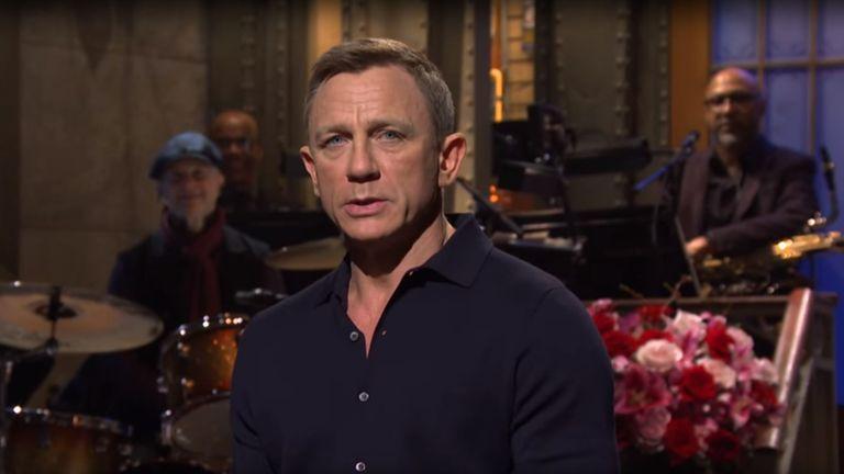 Daniel Craig appeared on Saturday Night Live on Saturday