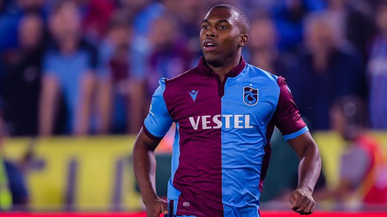 Sturridge had his contract with Turkish side Trabzonspor terminated