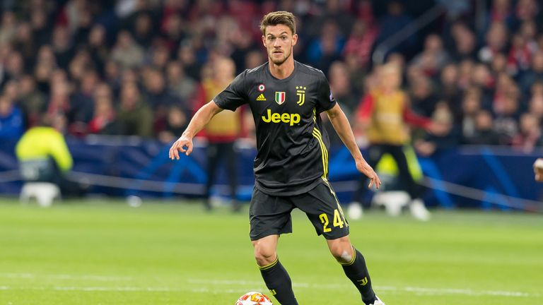 Daniele Rugani of Juventus has tested positive for Covid-19