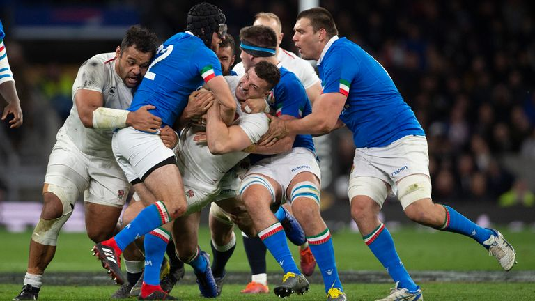 England's Six Nations match with Italy will be played behind closed doors
