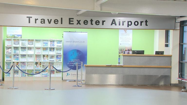 There were 5,498 Flybe flights from Exeter Airport in 2019