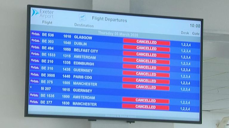 Flybe finally collapsed into administration just after 3am on Thursday