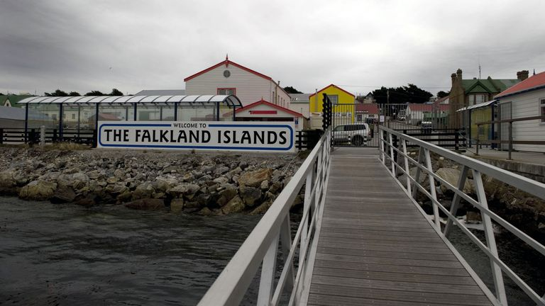 The only Falkland Islands hospital is in the capital Stanley