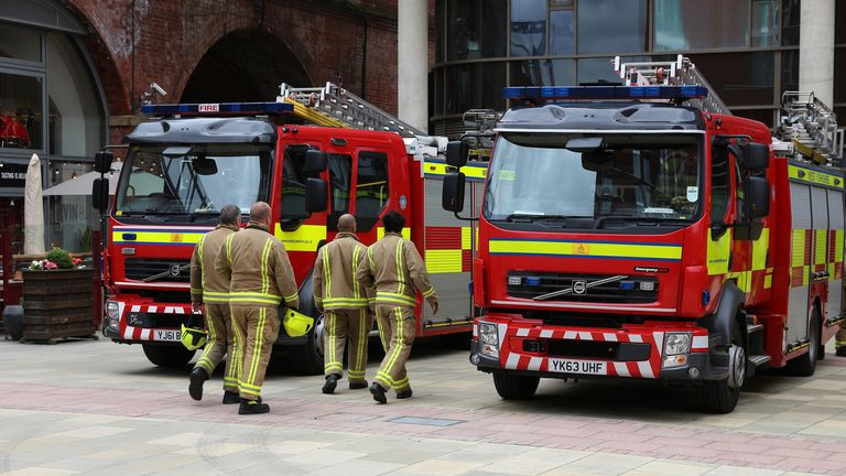 Fire service bosses say the measures reflect 'the scale of the national crisis'. File pic
