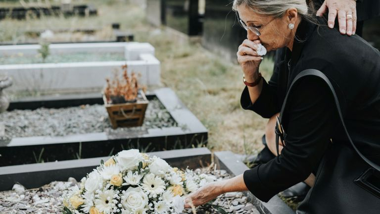Stock photo - funeral