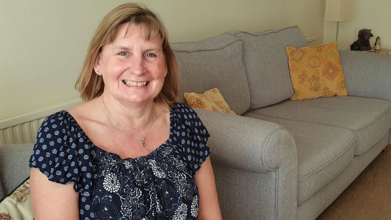 Gaye Greely discover that she had a grade 3 tumour after she was accidentally kicked in the breast
