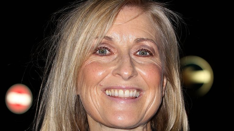 Fiona Phillips attends a celebration of Lorraine Kelly's 30 years in breakfast television