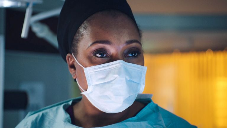 BBC shows Casualty and Holby City (pictured) are in talks with the NHS about donating protective equipment during the coronavirus pandemic. Pic: BBC