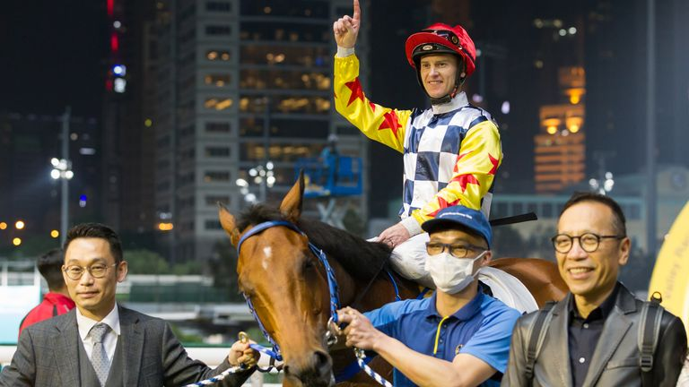 Horse racing is one of Hong Kong's biggest sports and has continued but with restrictions