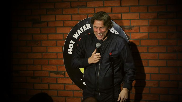 John Bishop has previously performed at the club. Pic: Hot Water Comedy Club